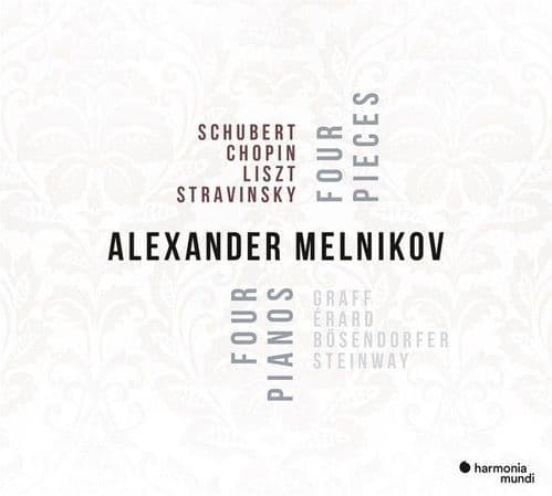 Alexander Melnikov<br>Four Pieces - Four Pianos